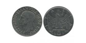 1 Lire Victor Emmanuel III Italie - Italie Reunifiee
