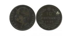 10 Centimes Umberto Ier Italie - Italie Reunifiee