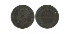 10 Centimes Victor Emmanuel II Italie - Italie Reunifiee