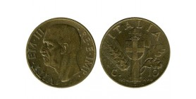 10 Centimes Victor Emmanuel III Italie - Italie Reunifiee
