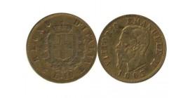 10 Lires Victor Emmanuel II Italie - Italie Reunifiee