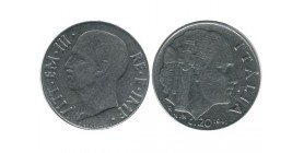 20 Centimes Victor Emmanuel III Italie - Italie Reunifiee