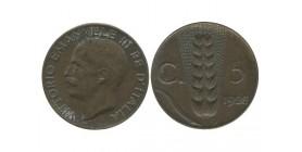 5 Centimes Victor Emmanuel III Italie - Italie Reunifiee
