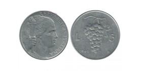 5 Lires Italie - Italie Reunifiee