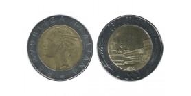 500 Lires Italie - Italie Reunifiee
