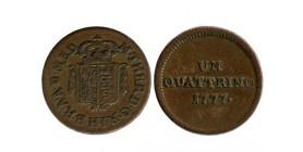 1 Quattrino Italie - Milan Occupation Autrichienne