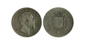 1 Lire Victor Emmanuel II 2ème type Italie Argent - Emilia