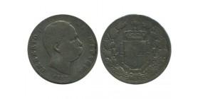 1 Lire Umberto Ier Italie Argent - Italie Reunifiee