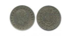 2 Lires Victor Emmanuel II Italie Argent - Italie Reunifiee