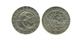 500 Lires Italie Argent - Italie Reunifiee