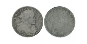 1 Tari Charles II italie argent - naples sicile