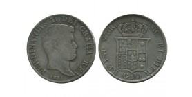 120 Grana Ferdinand II Italie Argent - Naples Sicile