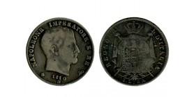 1 Lire Napoléon Imperator italie argent - occupation francaise