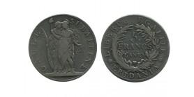 5 Francs Gaule Subalpine Italie Argent - Piemont