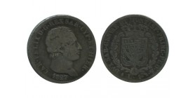 1 Lire Charles Felix Italie Argent - Sardaigne