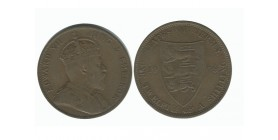 1/12 Shilling Edouard VII Jersey