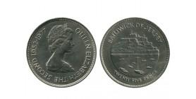 25 Pence Elisabeth II Jersey