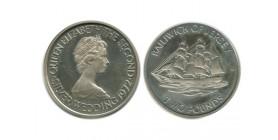 2 Livres Elisabeth II Jersey Argent