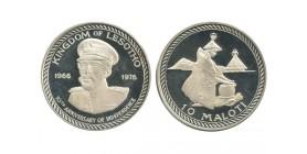10 Maloti Lesotho Argent