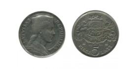 5 Lati Lettonie Argent