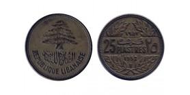 25 Piastres Liban