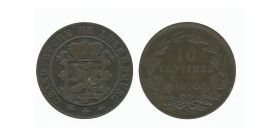10 Centimes Luxembourg