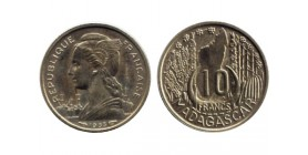 10 Francs Madagascar