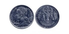 5 Francs Madagascar