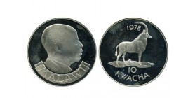 10 Kwacha Malawi Argent