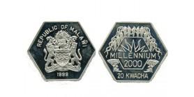 20 Kwacha Malawi Argent
