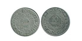 10 Francs Maroc Argent