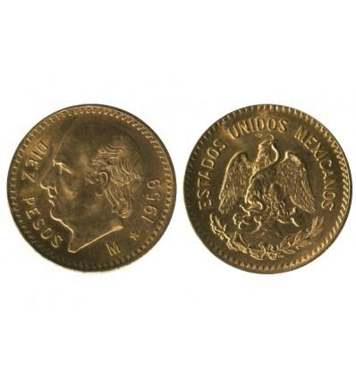 10 Pesos Mexique