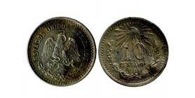 10 Centavos Mexique Argent