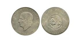 10 Pesos Mexique Argent