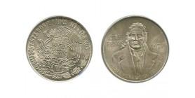 100 Pesos Mexique Argent
