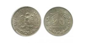 20 Centavos Mexique Argent