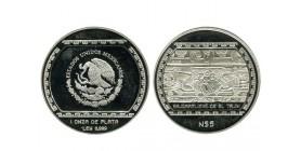 5 Nouveaux Pesos Mexique Argent
