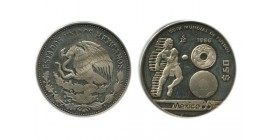50 Pesos Mexique Argent