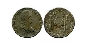 8 Reales Ferdinand VII mexique argent