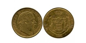 100 Francs Charles III monaco