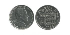 1 Franc Rainier III Monaco