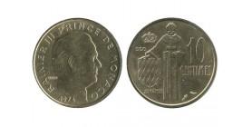 10 Centimes Rainier III Monaco