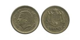 2 Francs Louis II Monaco