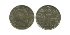 20 Centimes Rainier III Monaco