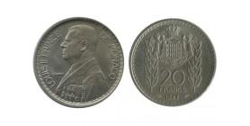 20 Francs Louis II Monaco
