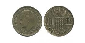 20 Francs Rainier III Monaco