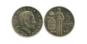5 Centime Rainier III Monaco