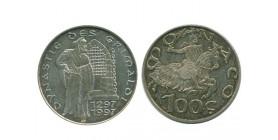 100 Francs Malizia Monaco Argent