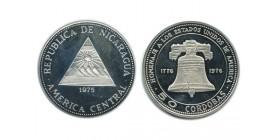 50 Cordobas Nicaragua Argent