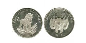 10 Francs Niger Argent